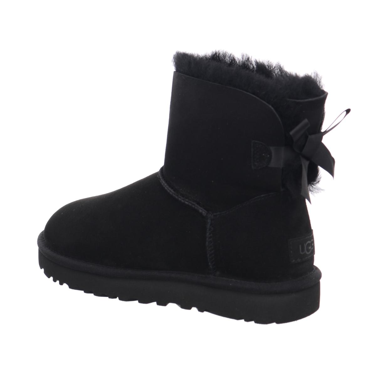 Ugg Boots Mini Bailey Bow Schwarz