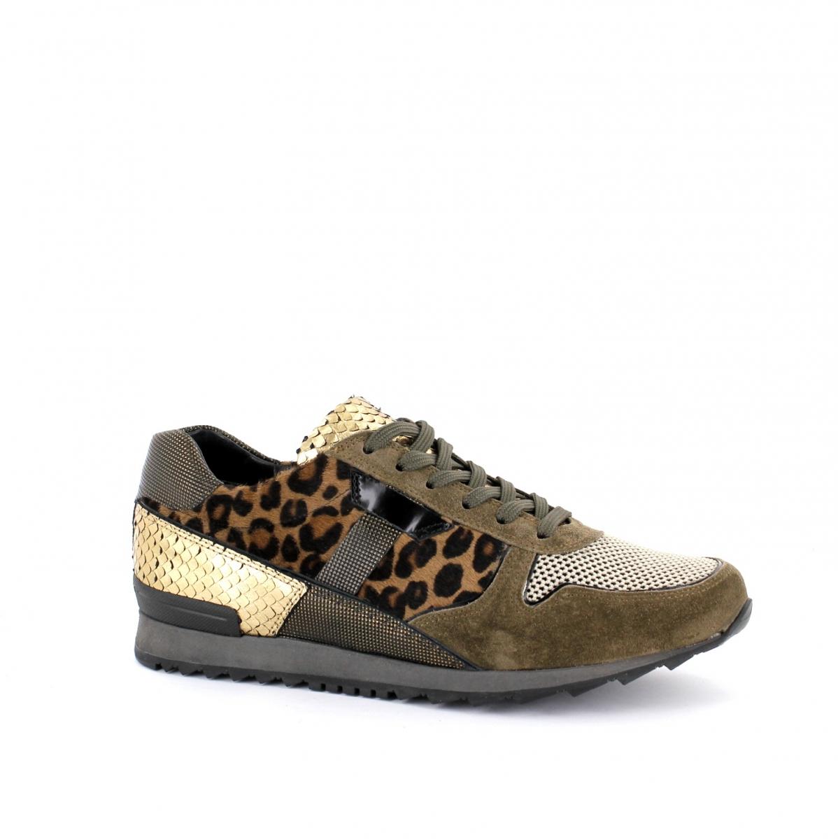 where can i buy multiple colors wholesale outlet K&S   18310.694 Sneaker Runner in braun/leo kombiniert ...