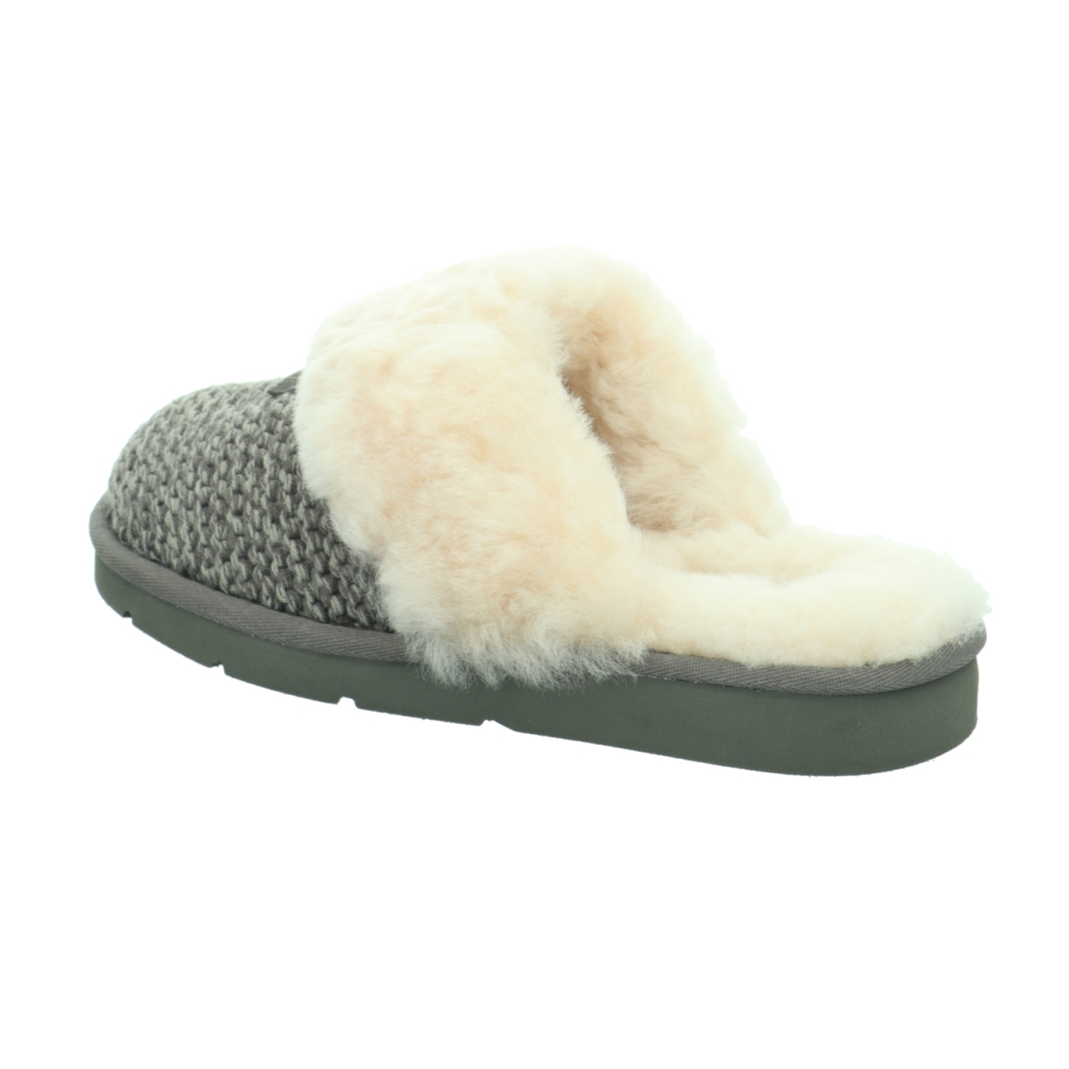 Details about UGG Cozy Knit Slipper Women   Charcoal (1095116)